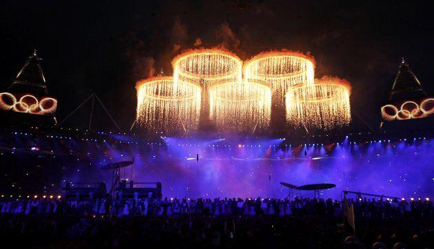 Олимпийские кольца 2012